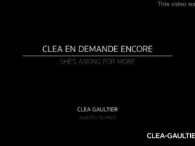 Clea Gaultier Wants More